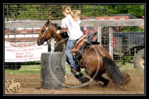 BSLBR 6-30-07: Barrel Racer by octagonalstar