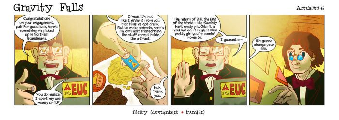 Gravity Falls: Artifacts 6 by illeity