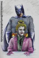 Batman and The Joker by UBob