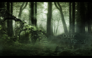 Celtic Forest by Fairling