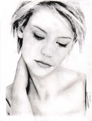 Claire Danes in repose by control