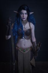 Shandris Feathermoon - Night Elf Archer - Cosplay by Carancerth