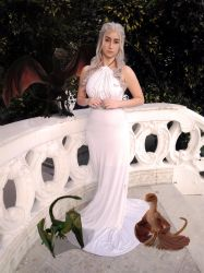 Daenerys and the Dragons - Game Of Thrones by DyChanCos