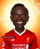 Sadio Mane by hemalaya