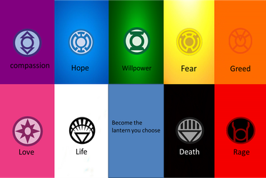 Chooes Your Lantern Corps by DANIOTHEMAN