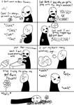 Gaster hates valentines day by TropicaIDeer
