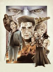 'The Deathly Hallows'one-sheet by BenCurtis