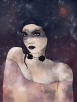 Cosmic girl by clementine-petrova