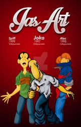 Joka Alec and Spiff since 1996 by immagestudios