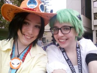 ACen 2016 - Ace and Zoro by Jengogirl