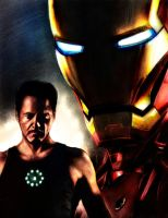 IRON MAN by Art-by-Jilani