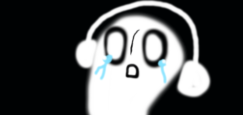napstablook by theshadowpony357