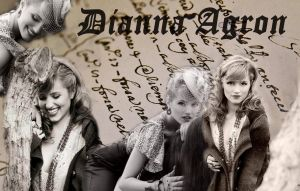 Wallpaper - Dianna Agron by DarinaBerry