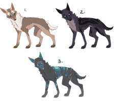 canine adoptables [CLOSED] by goatier