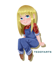 [FANART] Claire - Harvest Moon Mineral Town by TeddyLemon