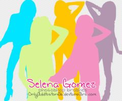 Selena Gomez Brushes by OnlyAddictionJb