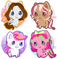 mini pony gifts by Miss-Glitter