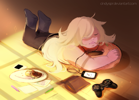Relaxing time by Cindyspr