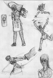 Z'horis sketches 1 by xDeadbrainx