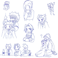 Sketch Dump num.5 by DragonessBahamut