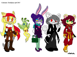 Adoptables Batch 01 (OPEN- Prices are LOWERED!!!) by Codename-Turtlefairy