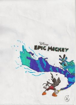EPIC MICKEY by claudiojust