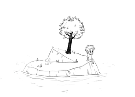 Late-night-doodle without color by IndianaJonas