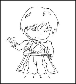 Chibi Roy Mustang by manifest3r