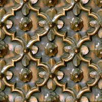 Tarnished Brass Metal Decor 2 (tileable) by LilipilySpirit