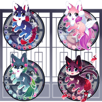 Kitsunet Adoptable Auction(SOLD!)) by Miizue