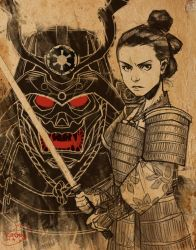 Star Wars Samurai by KendallHaleArt
