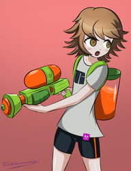 [Commission] Chihiro Inkling Cosplay by ZionWorldArtist