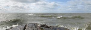 On the Rocks - Panorama - Detail 3 by DanielleDucrest