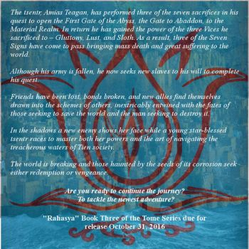 Rahasya Book 3 of the Tome Series Advert by AJ-Culpepper