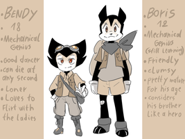 Bendy and Boris: The quest for the ink machine by thegreatrouge