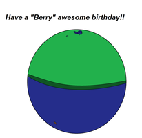Berry Awesome Bday by BalloonChey