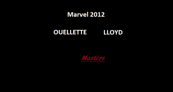 Marvel 2012 Lloyd, Oulette by RoninReviews3