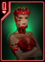 Queen of Hearts by benchi