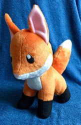 Fox Plush / Plushie by CatWoman4ever