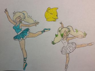 Staria and Luma's: Ballet lessons. by dcb2art