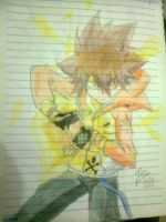 Tsuna by Icantdrawhands