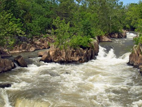 Great Falls of the Potomac 5 by Dracoart-Stock