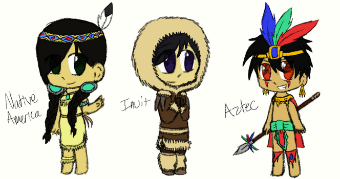 APH: Natives by mlp44