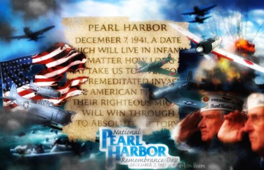 Rembering Pearl Harbor by Laughingbird11