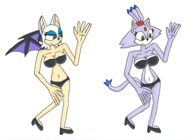 Request Beach Blaze and Rouge by Power1x