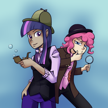 Detective poni by 7-Nights