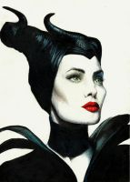 Maleficent by Thaliia00