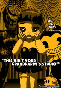 [YouTube] Bendy And The Ink Machine and Dr. Jones by Ella-Snow