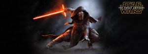 StarWars The Force Awakens Kylo Ren Facebook cover by maximumsohan