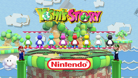 Yoshi's Story with Mario Brothers by Banjo2015
